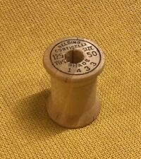 Vintage BELDING  Corticelli Thread Wood Spool - 125 YDS, Size 50, Shade 1433
