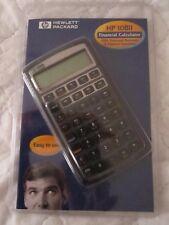 Hewlett Packard Hp 10Bii Financial Calculator Original Guide Mfg Sealed