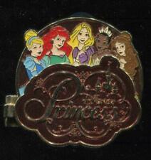 Princess Storybook Cinderella Ariel Rapunzel Tiana Belle Disney Pin 94269