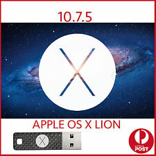 lion 10.7.5 OSX MAC Installer Bootable USB OS X macbook Pro Air iMac mini repair