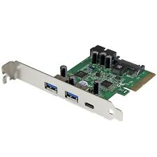 startech.com 5-port USB 3.1 (10gbps) Combo Tarjeta - 1x USB-C, 2x USB-A + 2x IDC