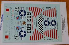 Microscale Decal 1:48 Scale #48-913 / P-47D Thunderbolts: 527th FS/86th FS/86th
