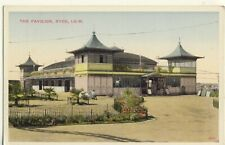 Y 368 ISLE OF WIGHT - POSTCARD OF THE PAVILION,RYDE