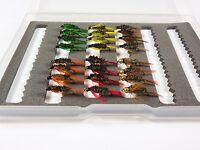 24 Diawl Bach Nymphs Trout Grayling Flyfishing Flies - Dragonflies