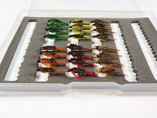 24 Diawl Bach Nymphs Trout Grayling Flyfishing Flies - Dragonflies