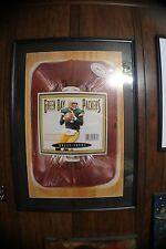Brett Favre Nike Poster Framed & Matted 29 inches x 42 inches