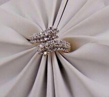 Vintage Jewelry 14K Yellow Gold Diamond Cocktail Cluster Ring 1.00 Ct G SI