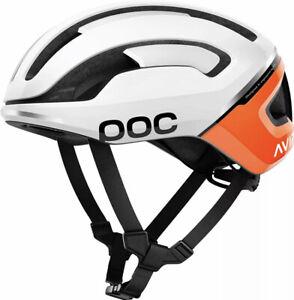 New! POC Cycling Omne Air SPIN Cycling Helmet Zink Orange AVIP Sz L 56-61