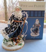 Fitz & Floyd Bristol Holiday Large Santa w Cane Figurine Centerpiece New in Box