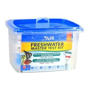 API Freshwater Master Test Kit pH Ammonia Nitrite Nitrate High Range pH Aquarium