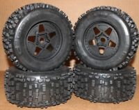 Arrma OUTCAST 6s BLX TIRES & Wheels tyres rims DBoots Backflip AR10692 Notorious