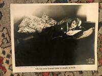 "Gloria's Romance 1916 Kleine 8x10"" silent serial lobby card Billie Burke"
