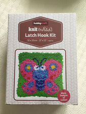 Hobbycraft Butterfly Latch Hook Kit