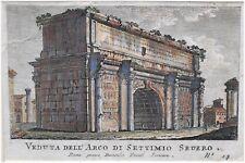 Rom / Italien - Arco di Settimio Severo - Domenico Pronti
