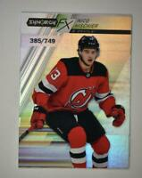 2020-21 UD Synergy FX #FX-34 Nico Hischier /749 - New Jersey Devils