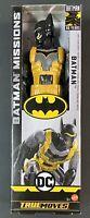 DC BATMAN MISSIONS BATMAN TRUE MOVES MATTEL ACTION FIGURE NEW