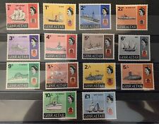 Gibraltar Sg 200-213 Cat £32 Lmm Missing 7d