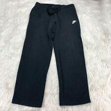 Nike Men's L Black Club Fleece Sweatpants Pockets