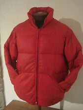 10-X Goose Down Men's Red Parka Puffer Jacket Sportsmen Coat Vtg USA Size XL