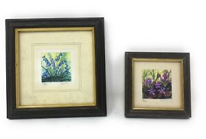 Vintage Minature Limited Edition Prints Signed & No By Artist, Kathleen Freeth
