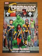 Champions Change The World Marvel Mark Waid (Paperback)< 9781846538032