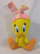 TWEETY BIRD Stuffed Animal Bunny Rabbit Ear 13 Inch Plush Looney Collectible Toy