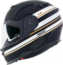 CASCO INTEGRALE FIBRA COMPOSITE NEXX X.T1 PURSUIT BLACK MATT-WHITE TAGLIA XS