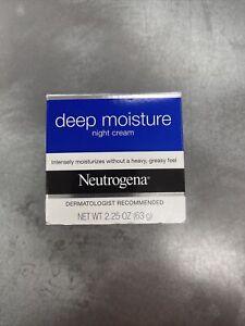 Neutrogena Deep Moisture Night Cream - 2.25 Oz. / 63 g