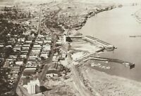 CD-046 OR, The Dalles, Aerial View Real Photo Postcard RPPC Oregon by Smith