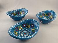 MYTH ARTS Set of 3 Small Bowls NEW Handmade Individual Condiment Charcuterie