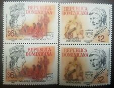 L) 1998 DOMINICAN REPUBLIC, UPAEP, FEATURED WOMEN, ANACAONA, GOLDEN FLOWER