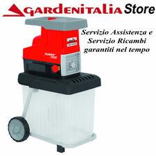 Grizzly GHS 2842 B Cippatrice a Rullo Silenzioso 2800W - Rosso/Nero