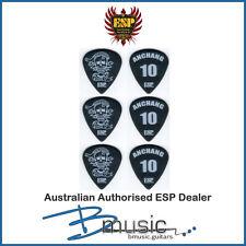 6 x ESP Anchang (Sex Machineguns) Signature Guitar Picks - Authorised ESP Dealer