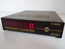 ZETAGI C-500 6 DIGIT FREQUENCY COUNTER...................RADIO_TRADER_IRELAND.