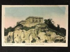 RP Vintage Postcard - Nottinghamshire #6 - Castle Rock - Peveril