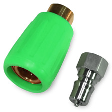 More details for carpet cleaning hose ultimate quick connector set - green