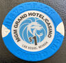 MGM Grand $1 Casino Chip Las Vegas Nevada House Mold 1.65 Shipping