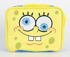 SpongeBob Square Insulated Lunch Bag Boys Kids Snack Lunch Box Bag Yellow Color