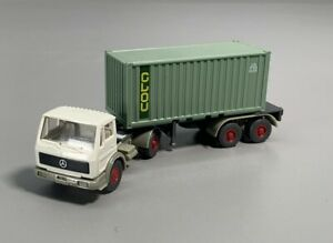 1:87 - WIKING--MB...Container-Sattelzug  // 3 N 116