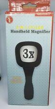 Handheld 2-in-1 Illuminated 3x Magnifying Glass MK60558-2