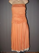 CHAIN REACTION Low Waist Strapless DRESS SIZE M -12 NEW