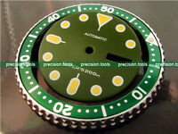 Olive Green Color Replacement Dial For SCUBA SKX007 009 Dark Yellow Marks
