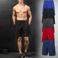 Men's Workout Shorts Running Jogging Basketball with Pockets Gym Bottoms Dri fit