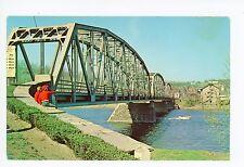 Boys on the Delaware River Bridge MILFORD NJ Upper Black Eddy Pennsylvania 1965