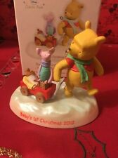 Babys 1st Christmas Disney Hallmark Keepsake Winnie The Pooh Ornament New In Box