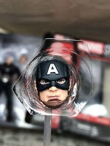 2018 Marvel Legends MCU Captain America Steve Rogers Head  First Ten Years 😃