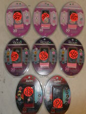 NEW LOT of 8 iFrogz Silicone Case iPod 2G nano Pink Purple Brown Red Black