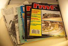 Lot de documentations modélisme ferroviaire RMF Magza'N train