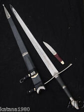 "50.4"" Razor Sharp Lord of the Rings Strider Ranger Sword & Scabbard New"