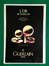 (PCA55) Pubblicità Advertising Ads Werbung GUERLAIN L'OR TRUCCO MAKE UP